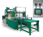 Full Automatic Plastic Making Bag Machine of 4 Lines Servio Control width of 150-300mm