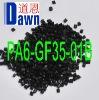 PA6 (Polyamide 6) with 35% glass fiber reinforced Black Equal to Zytel 73G35HSL BK262