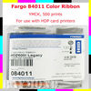 Fargo 84011 Color Ribbon - YMKCK-500 prints