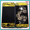 Chinese Coins new design 3D Clear front+back Protector Quard Film for Iphone 4, 4S