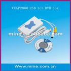 Offer 1CH USB DVR capture box with good price and quality