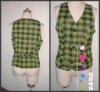 Cell green ladies' vest