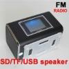 Big LED Screen FM Channel Charging Mini USB Portable Speaker