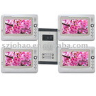 Color video door intercom system