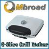 6-slice grill maker