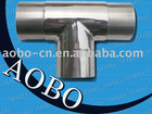 Stainless steel tee eblow