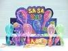 Party Supplies-plastic LED Maraca COOL!! (HSLM-1)