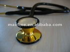 Golden Plated Cardiology Stethoscopes