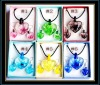 hottest murano necklace and earrings set