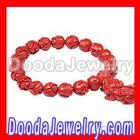 Lotus Shape Bead Buddhist Prayer Bracelet Wrist Mala