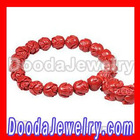 Lotus Shape Bead Buddhist Prayer Bracelet Wrist Mala