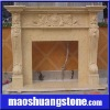 Hand Carved Fireplace Surround