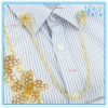 Decorative Garment Accessories Shirt Collar Pin with Metal Chain