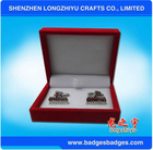 Magnetic Cufflinks With Red Jewelry Box