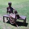 Elegant lady sculptuer