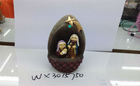 new Religious resin craft small egg