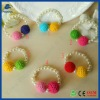 Button series children's lovely acrylic bracelet