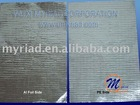 Heat Sealing Alu Foil Facing (FSV185B),aluminum foil facing, fiberglass wool