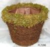 Rattan Garden Planter Pot