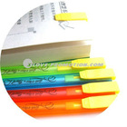 HOT promotional pen flat Bookmark pen