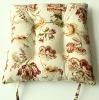 100% cotton chair cushion/printed cushion
