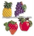 Eye-catching and hot selling Magnet Set of 4 - Fruits