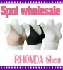 New Women Ahh Bra Seamless Comfy Leisure Bra Sports Vest Crop Top S M L 1X 2X 3X