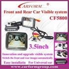 car parking sensor front and rear visible system