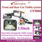 car parking sensor front and rear visible system