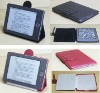 Stand leather cover case for Amazon kindle 4 no touch