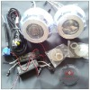 hot sales bi-xenon hid projector lens light angel eyes