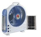 Portable Solar Fan with LED Light, Solar Fan Lighting System