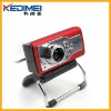 Kedimei 3 LED USB2.0 Mini Digital PC Webcam(W6079)