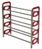 portable 4 tiers shoes rack