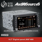 Audiosources General car dvd AS-8101 for most of brand of car 1999-2007
