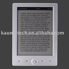 6 inch E-Ink ebook reader with linux system,