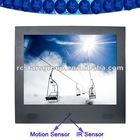 "15"" Motion Sensor LCD Digital Signage"