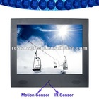 "15"" Motion Sensor LCD Digital Signage"