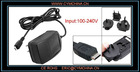 Travel Black Charger Adapter for Blackberry 9500 9700 8900