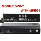 High speed mobile DVB-T receiver with MPEG4