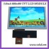 5.0 inch 800x480 color display module