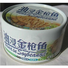 canned tuna shredded in oil