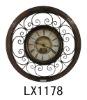 Beautiful Wall Decoration Metal Art Clock