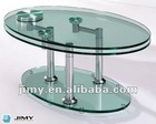 extendable glass coffee table