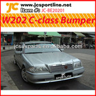 FRP C-class bumper lip front bumper for Benz W202-AMG style