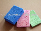 Kitchen cellulose sponge
