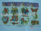 2012 fashional temporary tattoo sticker Water transfer printing