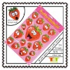 FACE STRAWBERRY OEM CUSTOM SPONGE TOY STICKERS