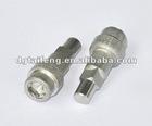 Non-standard hex socket stainless steel screw
