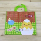 animal letter print non woven promotion bag